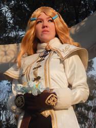 Breath of the Wild Zelda by Eryn-Marie