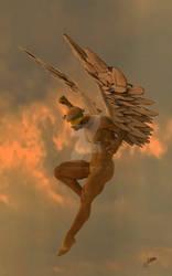 Angel dominante-renderosity