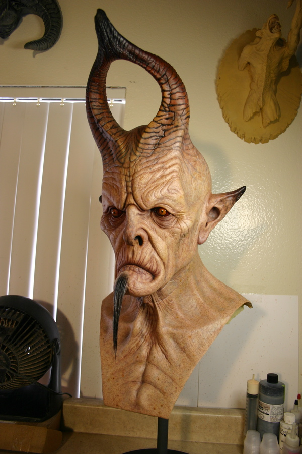 The Real Lucifer Lucifer mask view by