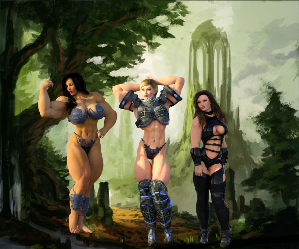 Amazon Warriors (Preview 1) by Mrlex303