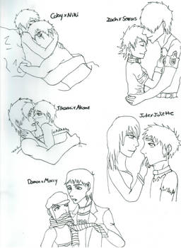 My Favourite Couples and Ships
