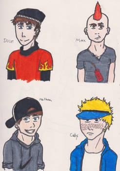 The Gang: Dave, Max, Nathon, Cody