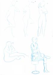 Yuffie Kisaragi cosplay - sketch 5min experiment