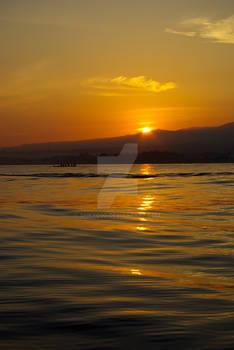 Sunrise in Bali island