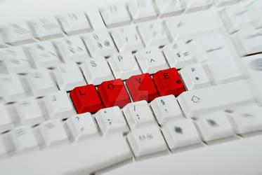 Love through computer...