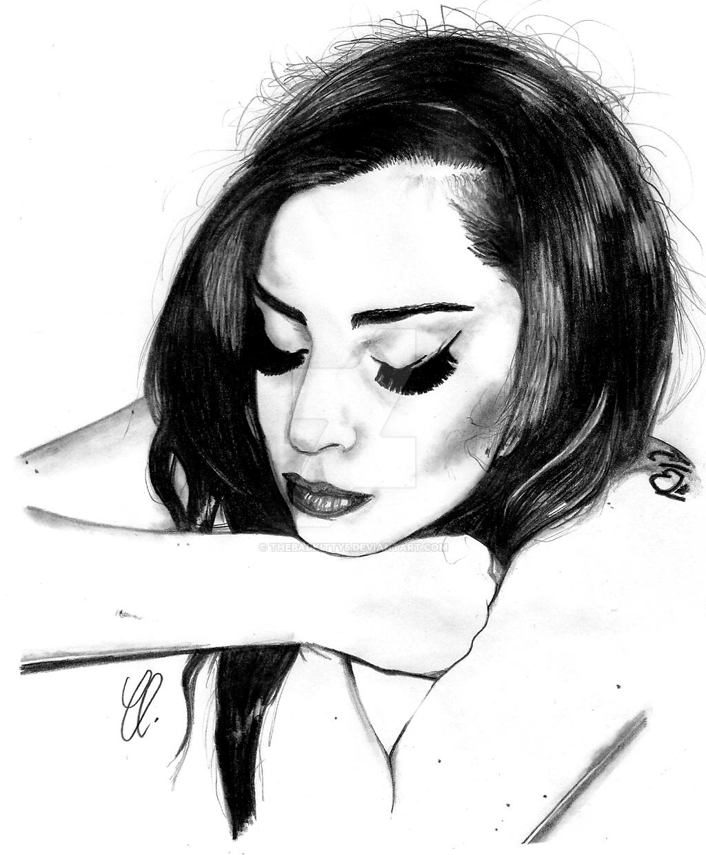Gaga in the Bathtub by thebadkitty5