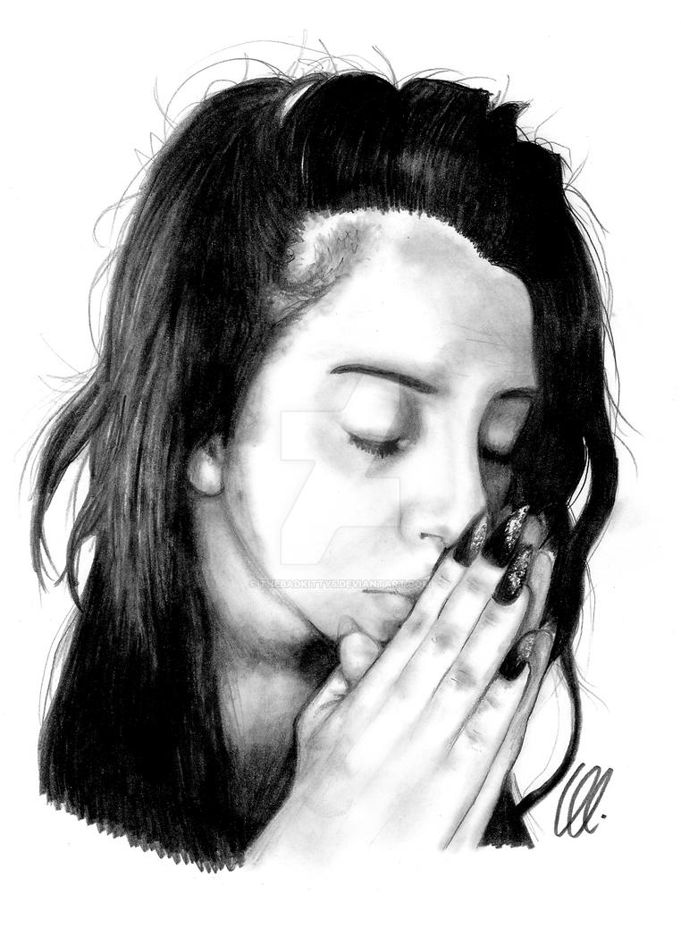 Lady Gaga Pray For Santa Maria by thebadkitty5