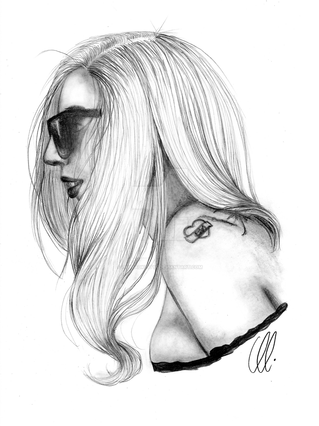 Lady Gaga by thebadkitty5