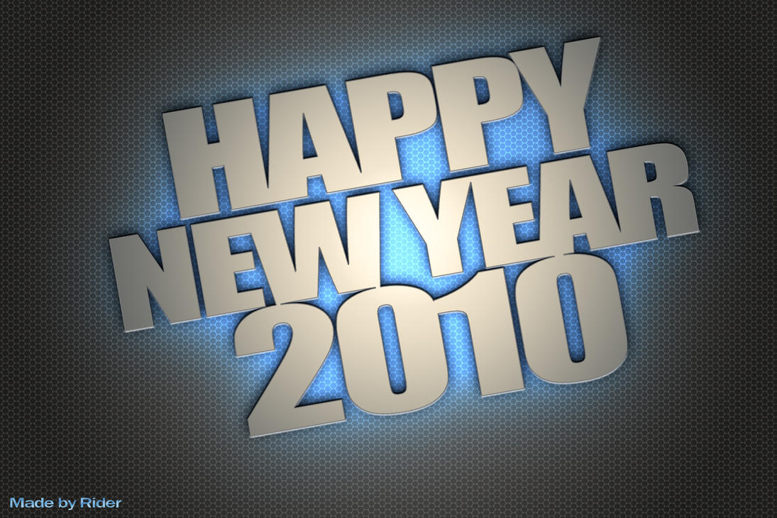 Happy new year 2010 by teor2