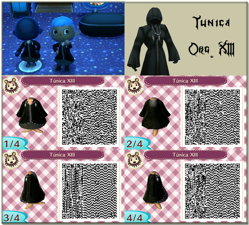 QR Animal Crossing New Leaf: Tunica Org. XIII by One-Eco