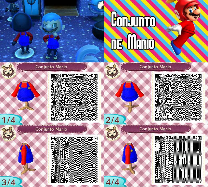 QR Code ACNL: Conjunto de Mario Bros. by One-Eco