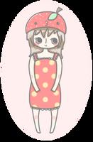 ART TRADE: miss-strawberrie by momobee