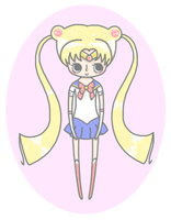 Sailor moon little chibi by momobee