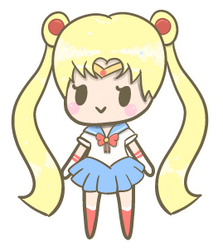 Sailor Moon Tiny Chibi :) by momobee