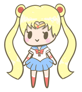 Sailor Moon Tiny Chibi :) by momobee