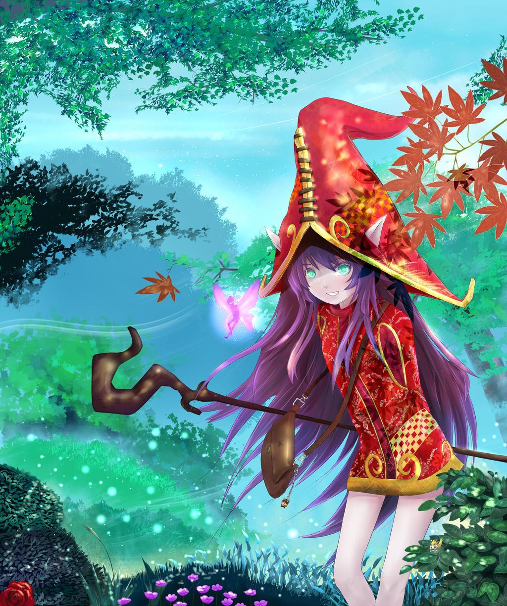 Lulu the Fae Sorceress by Muite