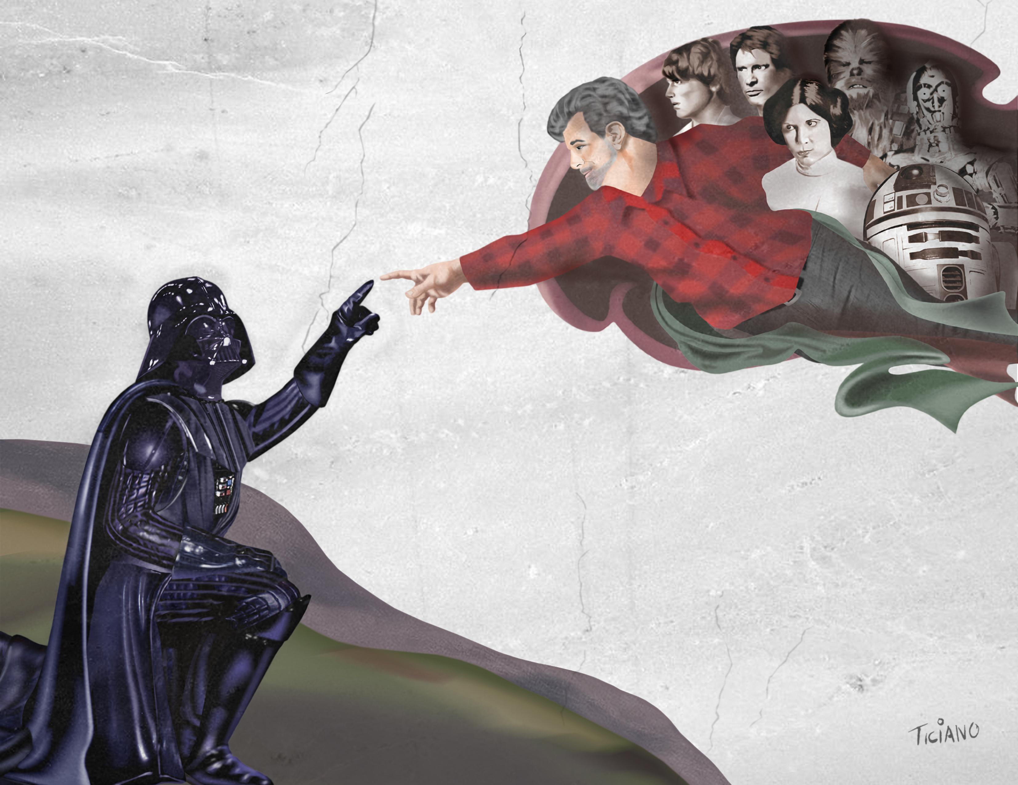 Darth Vader Creation by Ticiano