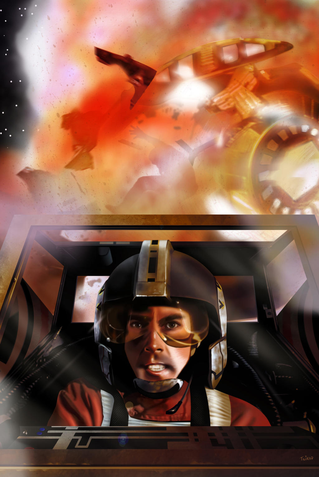 Wedge Antilles by Ticiano