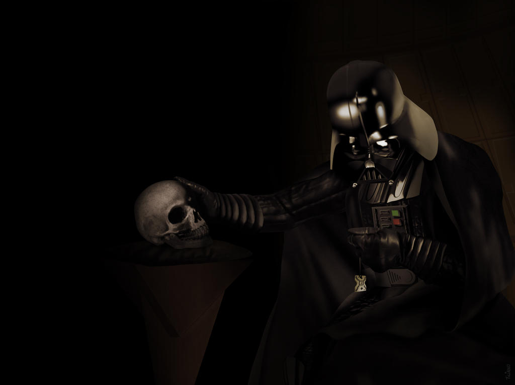 Darth Vader in Penitence by Ticiano