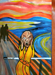The Scream Star Wars by Ticiano