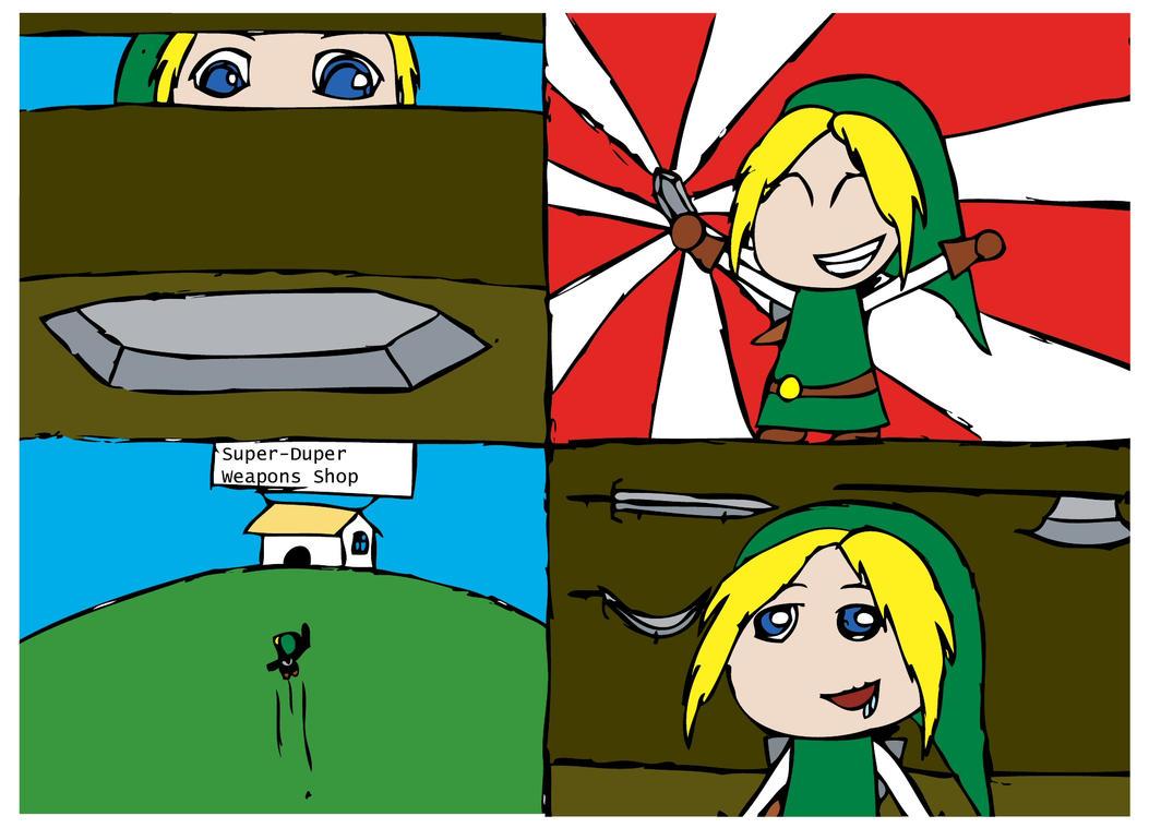 Zelda Comic Page 1 by Sora-Oathkeeper