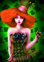 Mad Hatter Girl by reimey