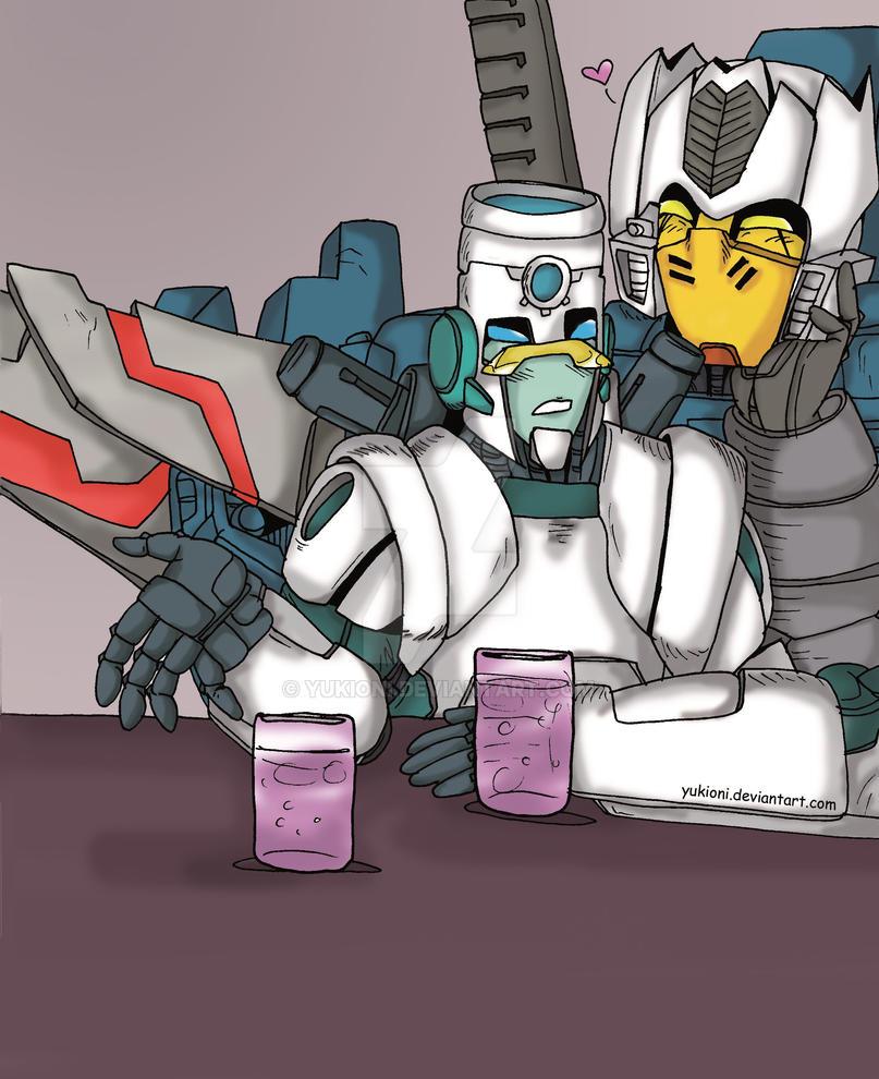 TF MTMTE- Brainstorm X Quark by YukiOni