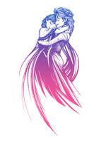 Frozen Fantasy - Anna/Elsa (FF/Frozen Mashup) by SteveGibson