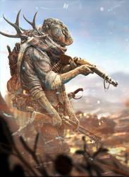 Hank the Hunter by SteveGibson