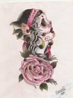 Mexican Skull by Nofacho