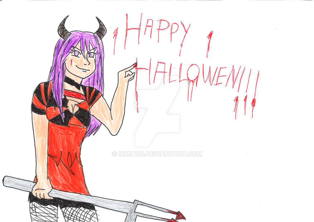Happy Halloween!!! ^^ by IrmitXD