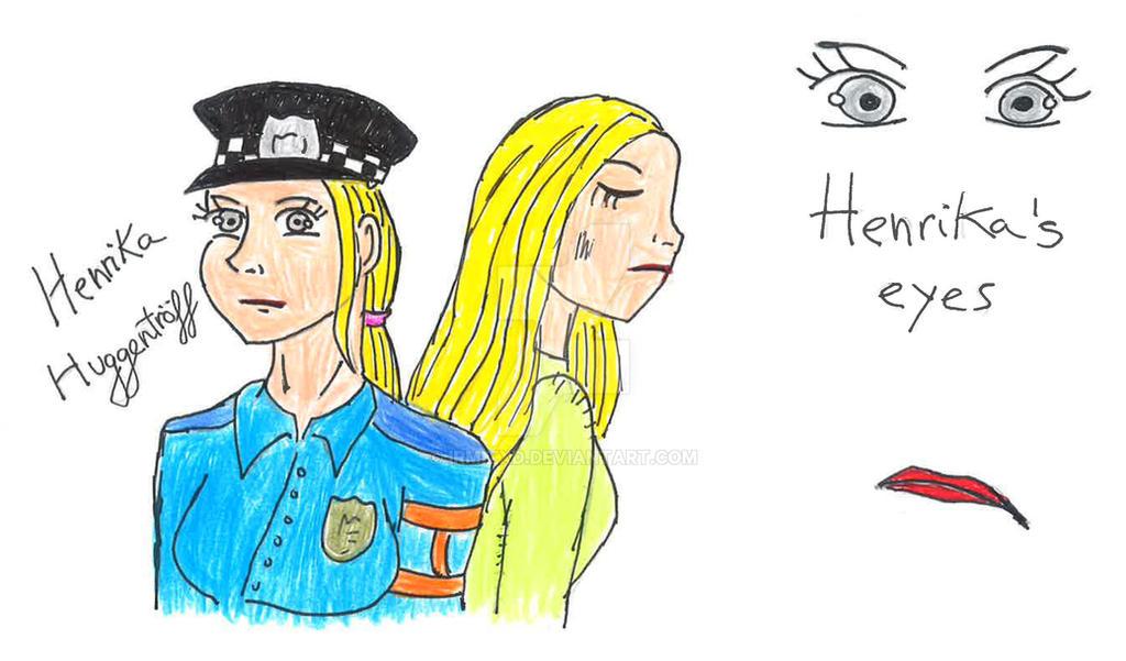 Ingrid's cop aunt by IrmitXD