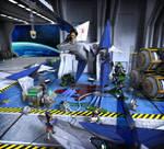 The Star Fox Team (Wii U)