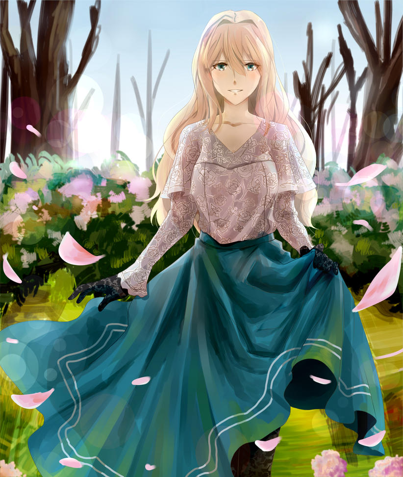 Violet Evergarden By TheSupremeLordNinkir On DeviantArt