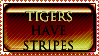 HENHOUSE Tigers Stamp by BucklesInTheSun