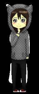 Torke159 commish_Pixel doll by Badgerkai