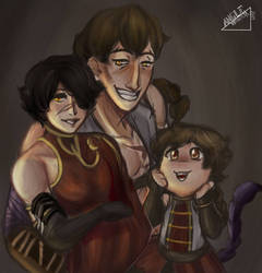 Tynder Family~ by MagentaButterfly123
