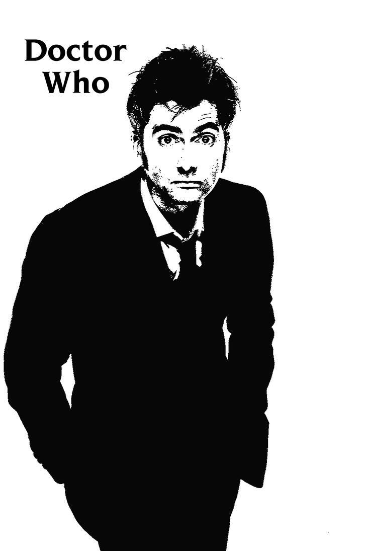 Doctor Who Stencil by CrimsonAnchors on DeviantArt