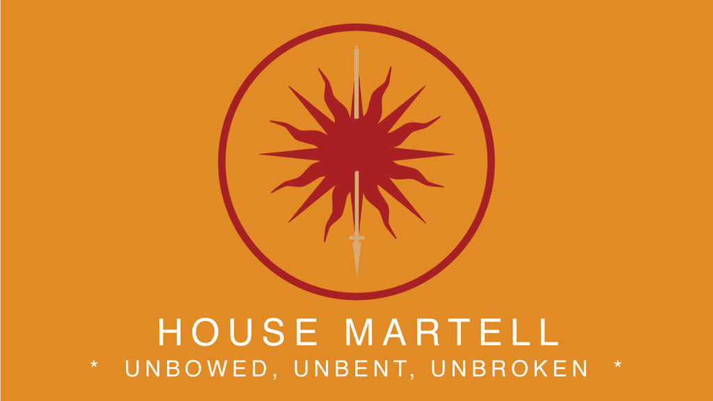 game of thrones house martell by crimsonanchors on deviantart. Black Bedroom Furniture Sets. Home Design Ideas