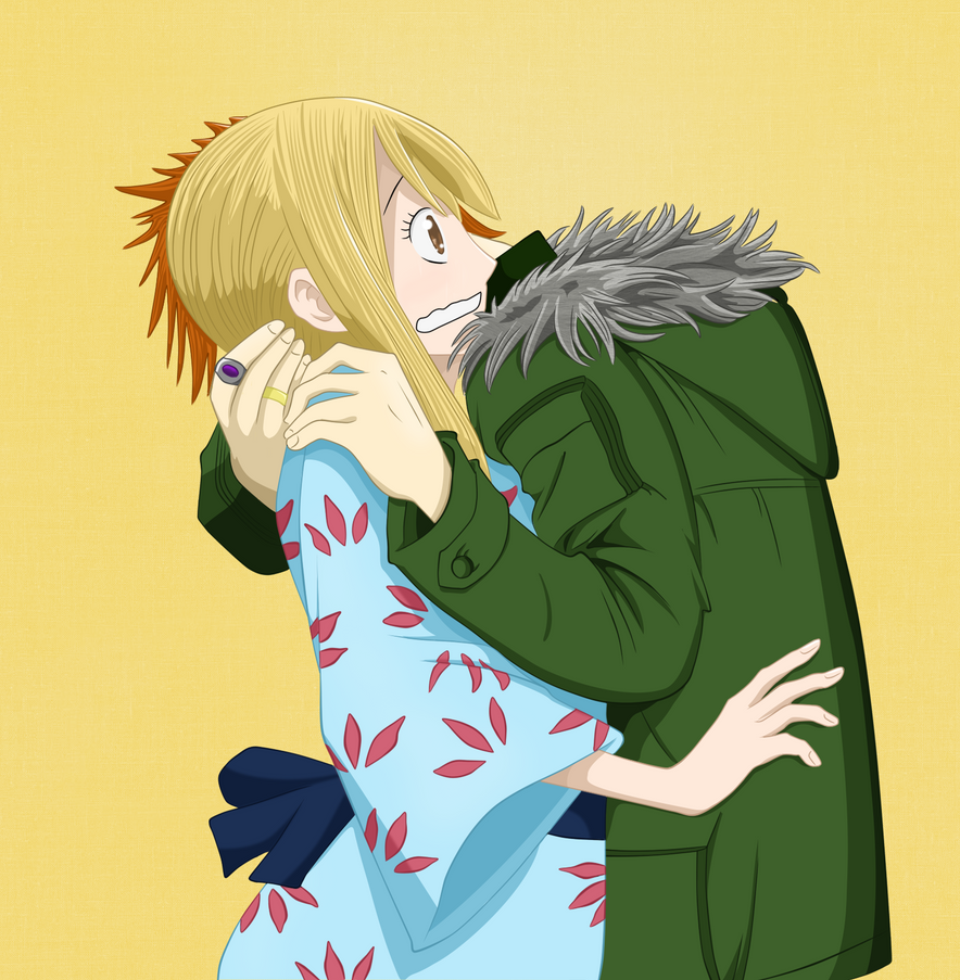 Loke and Lucy color by Hay-Hay-chan