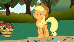 Applejack on the Farm