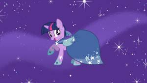 Rarity's Dress for Twilight by ShelltoonTV