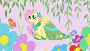 Rarity's Dress for Fluttershy by ShelltoonTV
