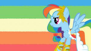 Rainbow Dash at the Gala by ShelltoonTV