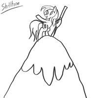 NATG Day 4: Pony on a Hilltop by ShelltoonTV