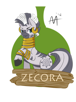 Zecora Shirt Design