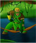 Earth 2 Green Arrow