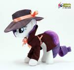 Detective  Rarity plush