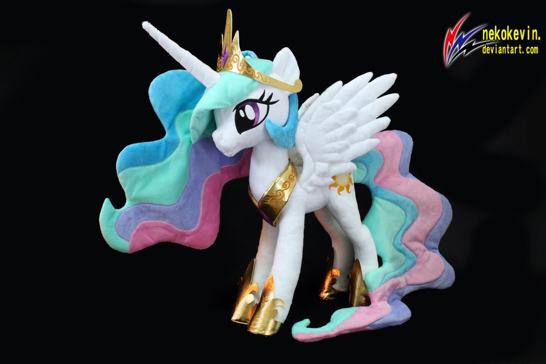 Princess Celestia Plush 2 by nekokevin