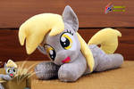 Derpy plush open mouth